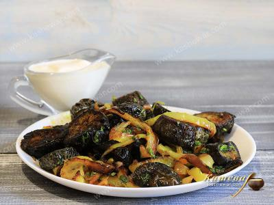 Eggplant with Bell Peppers