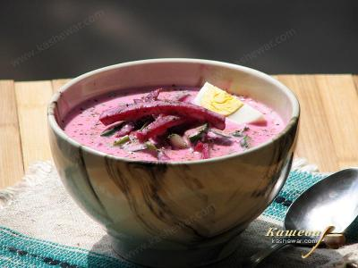 Cold Borscht with Kefir