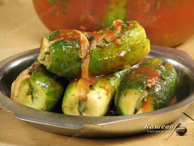 Quick Salted Cucumbers