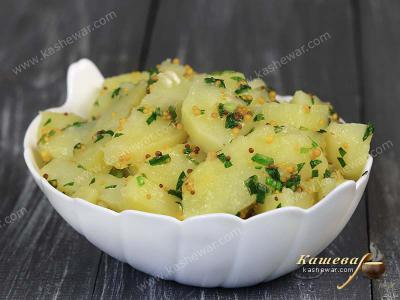 Mustard potatoes