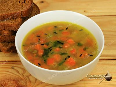 Pea Soup with Carrots