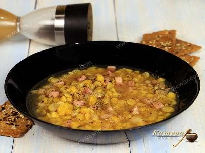 Ham and bacon pea soup