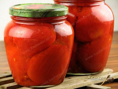 Tomatoes in Own Juice without the Rind (Pomodori pelati)