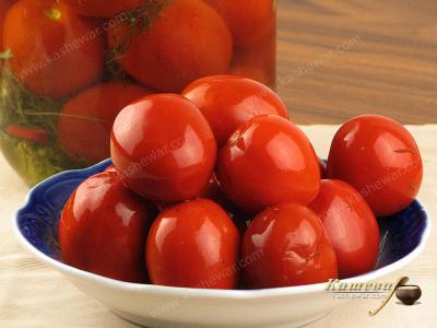 Cold Salted Tomatoes