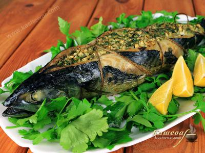 Fish Stuffed with Fennel
