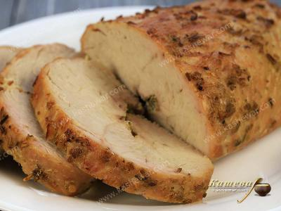 Baked Turkey Fillet with Fennel