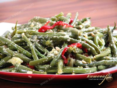 String Beans with Bell Peppers