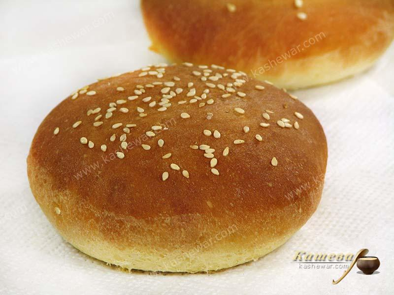 A hamburger bun – recipe ingredient
