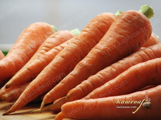 Carrots – recipe ingredient