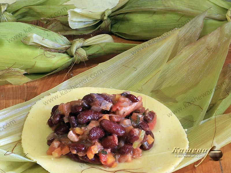 Corn leaves – recipe ingredient
