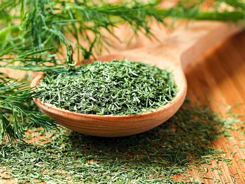 Dried dill – recipe ingredient