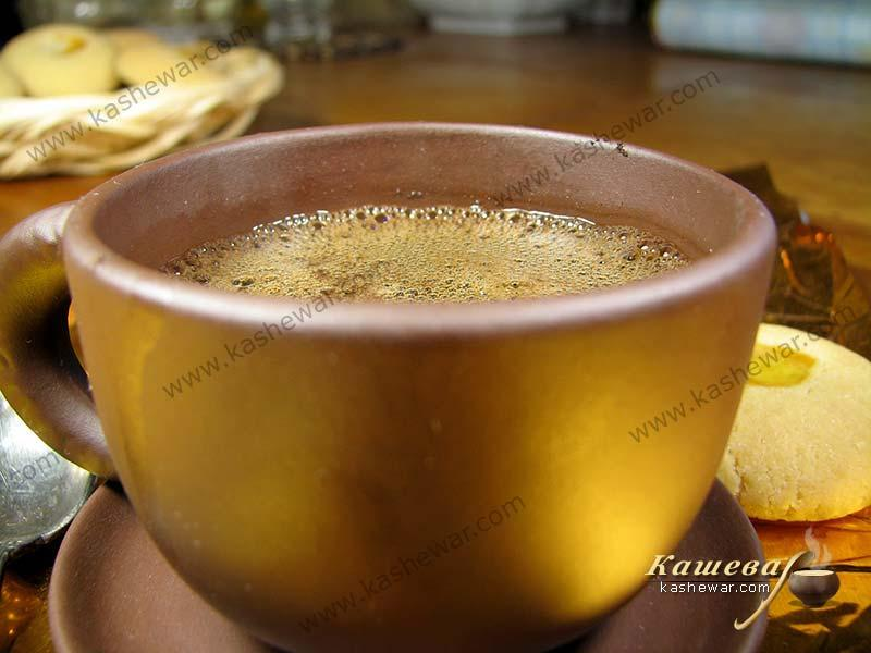 Espresso – recipe ingredient