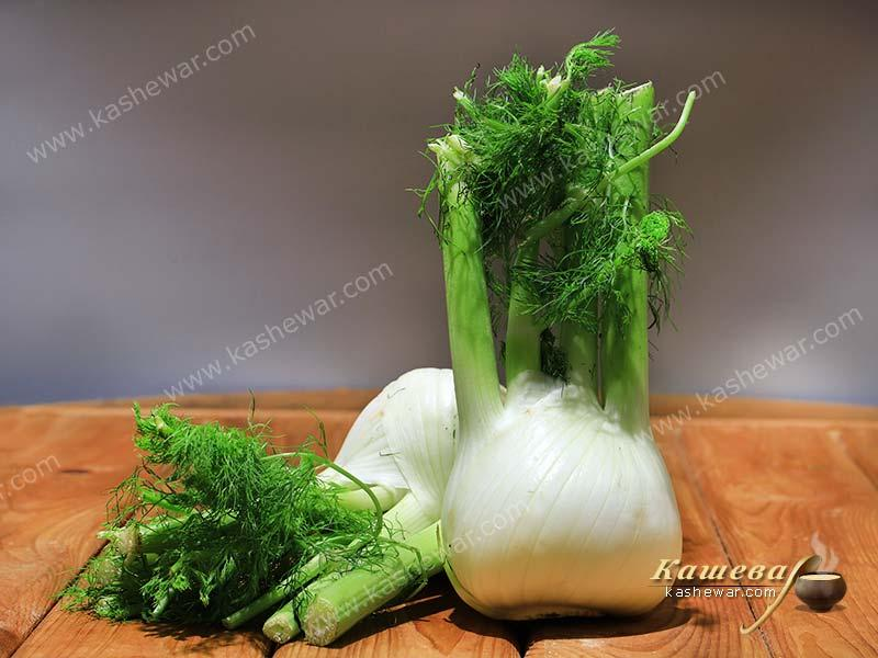 Fennel – recipe ingredient