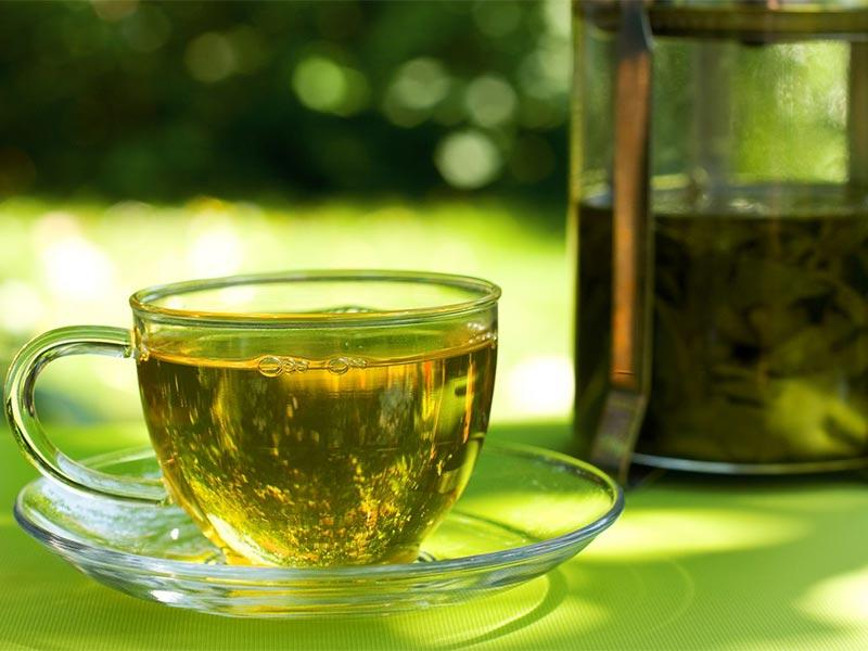 Green tea – recipe ingredient