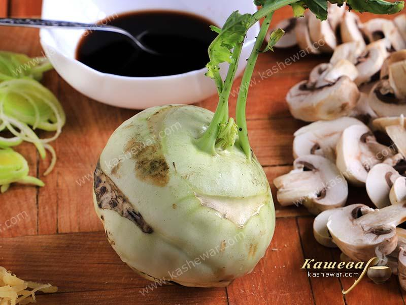 Kohlrabi – recipe ingredient