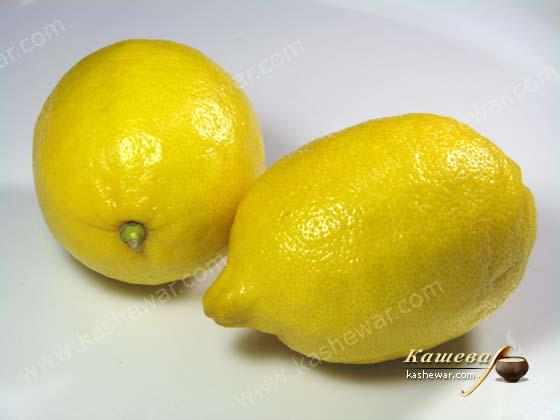 Lemon – recipe ingredient