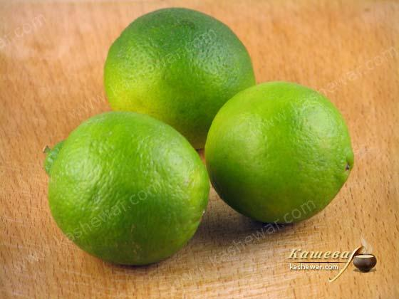 Lime – recipe ingredient