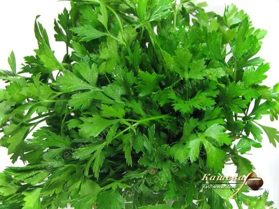 Parsley – recipe ingredient