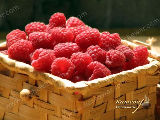 Raspberries – recipe ingredient