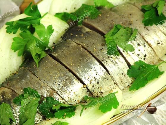 Salted herring – recipe ingredient