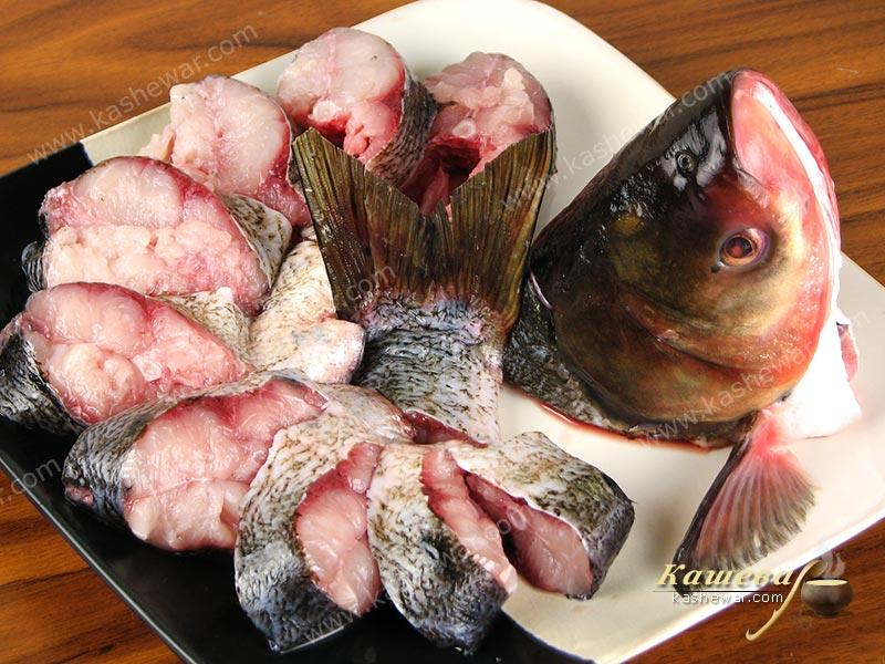 Silver carp – recipe ingredient