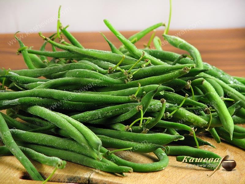 String beans – recipe ingredient