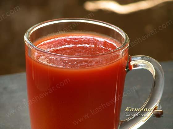 Tomato juice – recipe ingredient