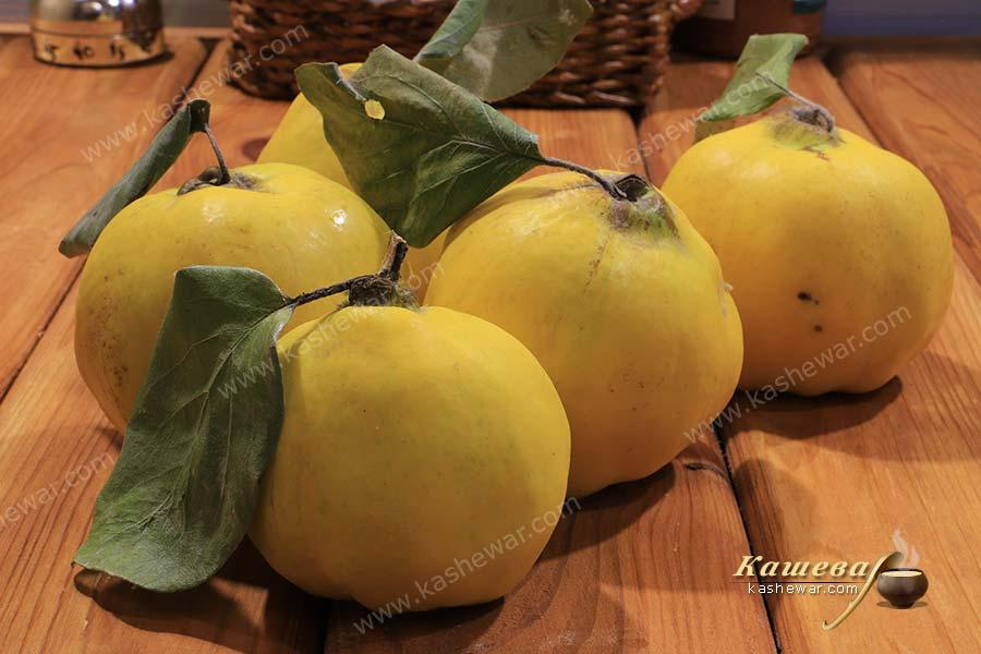 Quince dishes