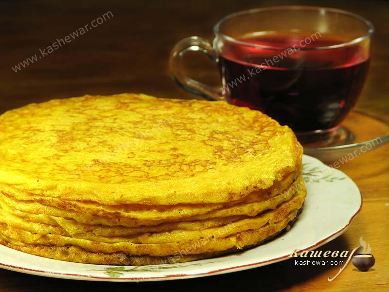 Pumpkin pancakes – recipe with photo, Belarusian cuisine