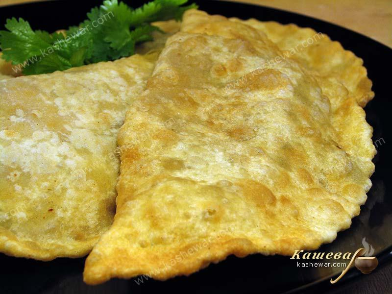 Chebureks – recipe with photo, Georgian cuisine