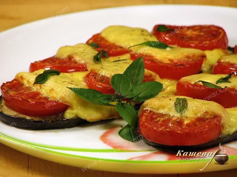 Eggplant and tomato gratin – recipe with photo, Italian cuisine