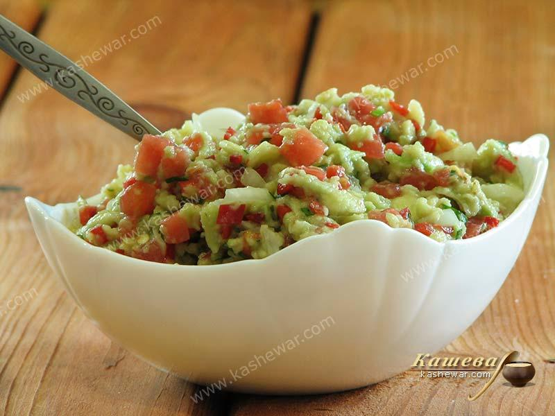 Guacamole – recipe with photo, Mexican cuisine