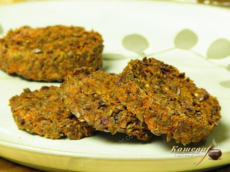 Vegetable and spice crispbread – recipe with photo, dishes for raw foodists