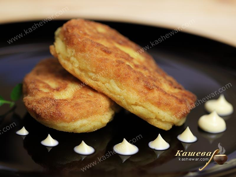 Potato cutlets – recipe with photo, Moldovan cuisine