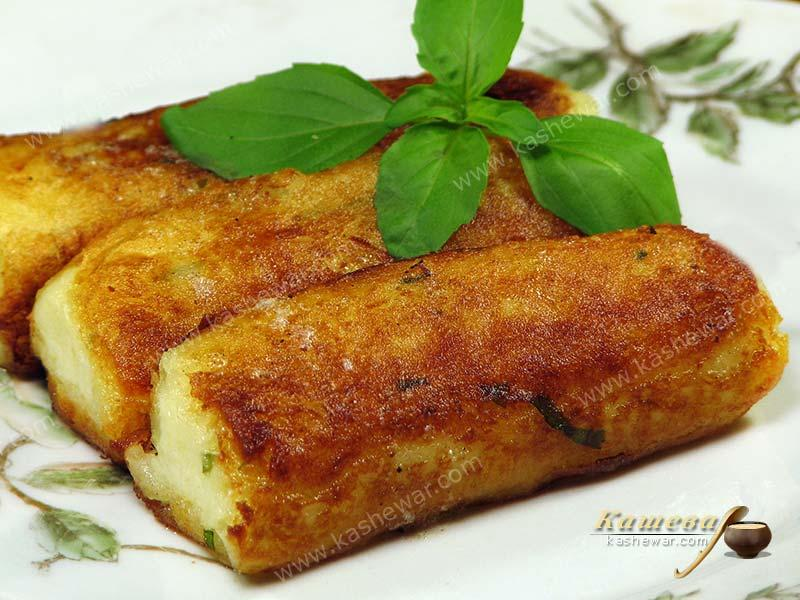 Potato fingers – recipe with photo, Ukrainian cuisine