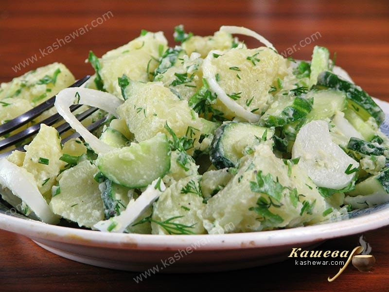 Potato salad – recipe with photo, German cuisine