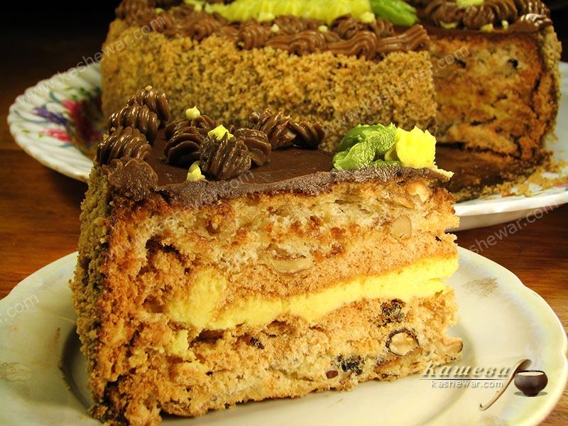 Kyiv cake – recipe with photo, Ukrainian cuisine