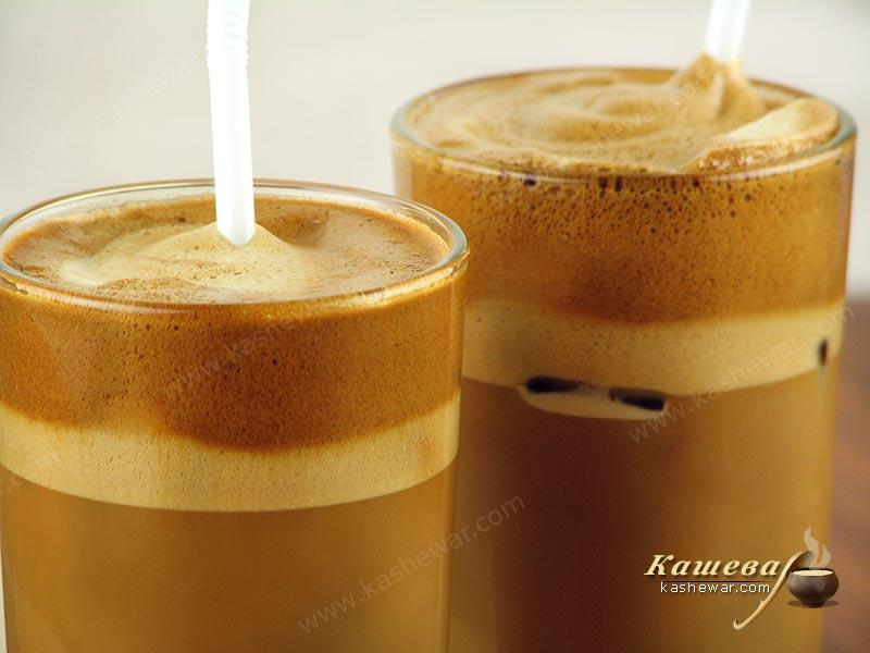 Coffee frappe – recipe with photo, Greek cuisine