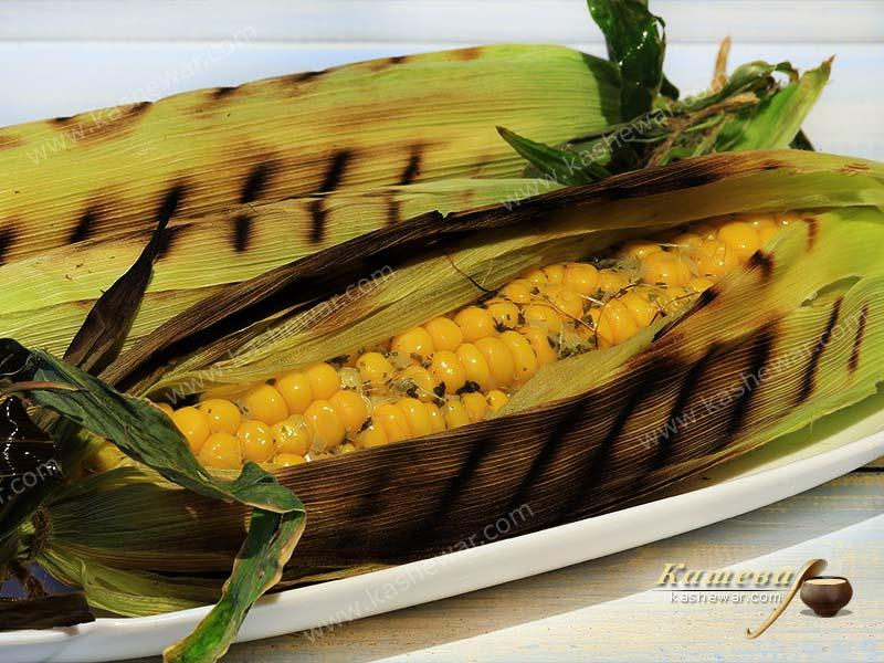 Grilled corn – recipe with photo, German cuisine