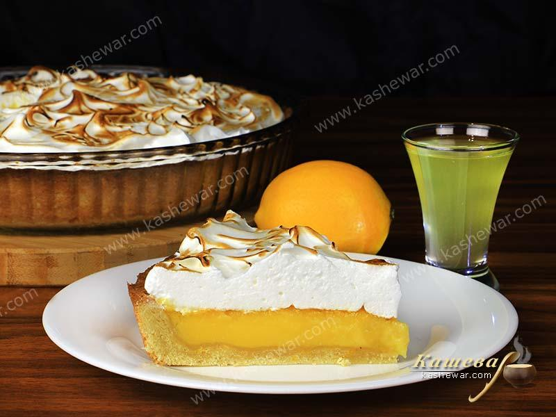 Lemon meringue pie – recipe with photo, French cuisine