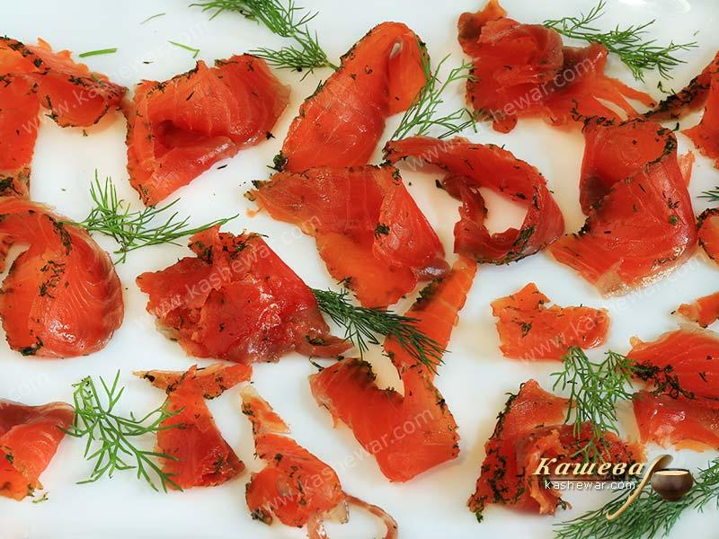 Pickled salmon – recipe with photo, German cuisine