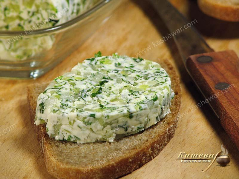 Butter with herbs – recipe with photo, German cuisine