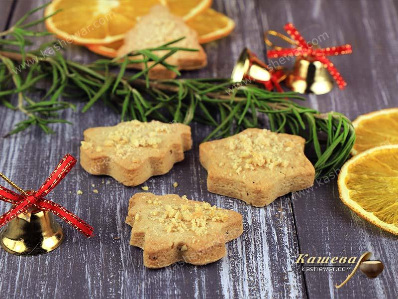 Almond Christmas Cookies (Mandelspekulatius) – recipe with photo, German cuisine