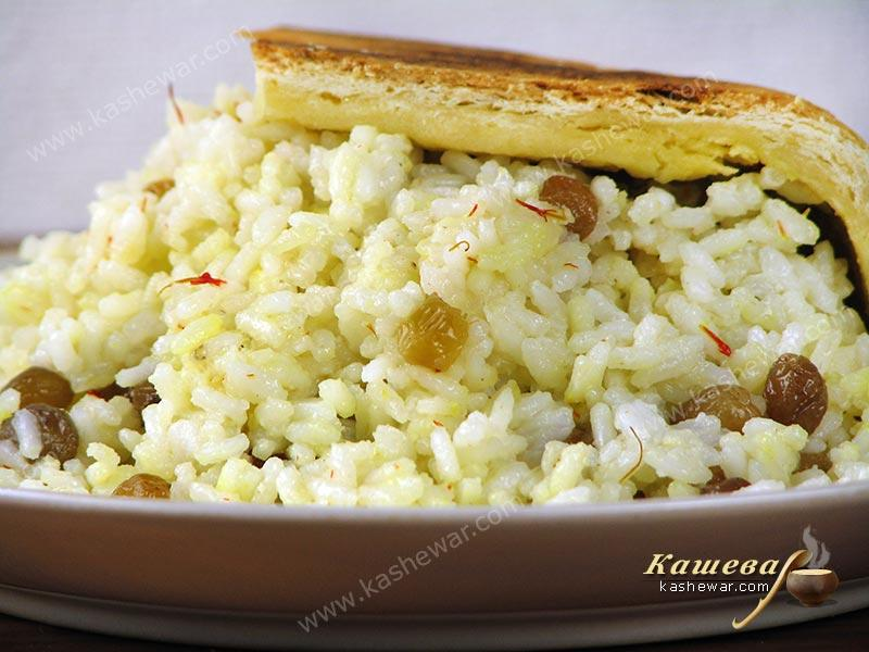 Sudlu Milk Pilaf – recipe with photo, Azerbaijani cuisine