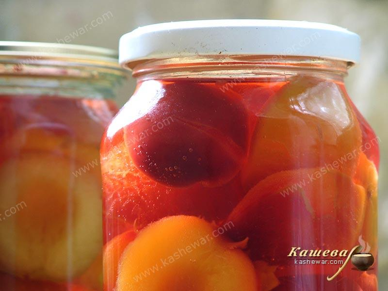 Natural plum – recipe with photo, food preservation for the winter