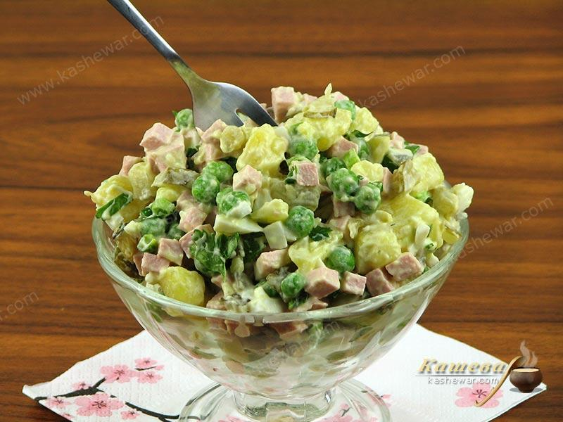 Soviet Olivier salad – recipe with photos, Soviet cuisine