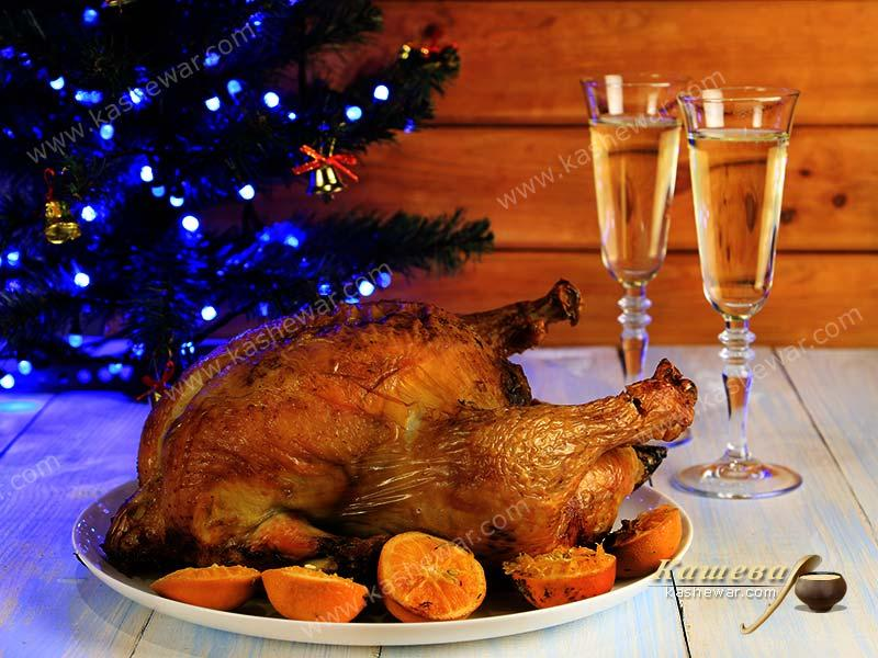 Christmas turkey – recipe with photos, Jamie Oliver recipe