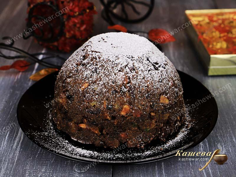 Christmas pudding – recipe with photo, British cuisine
