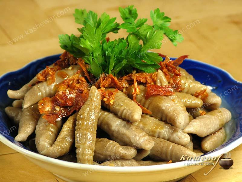 """Fish"" from buckwheat flour – recipe with photo, Chinese cuisine"