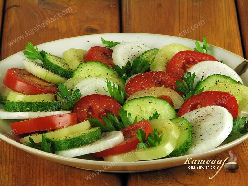 Yerevan salad – recipe with photo, Armenian cuisine